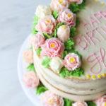 Vanilla Cake With Fresh Strawberry Filling