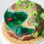 How to Make an Island Cake With Jello