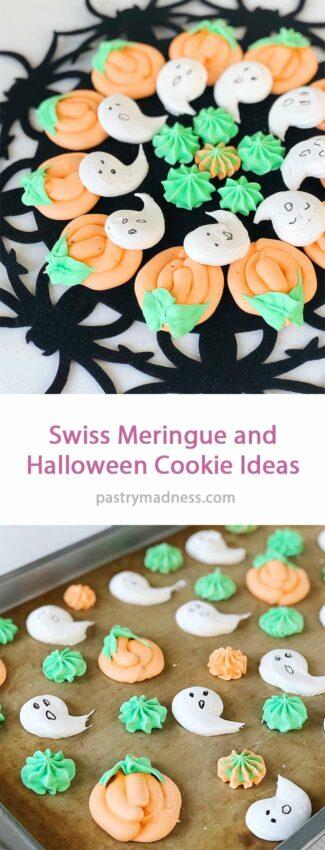 Swiss Meringue and Halloween Cookie Ideas