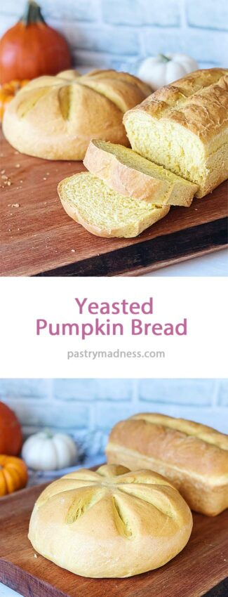 How to Make Yeasted Pumpkin Bread