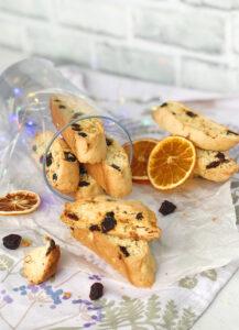 Almond Cherry Biscotti