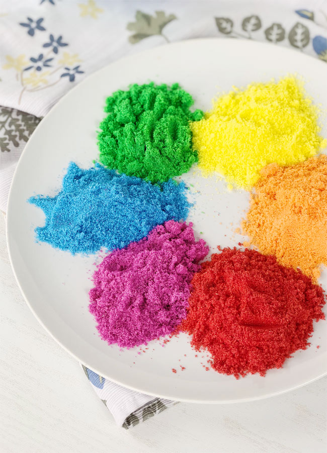 How to Make Colored Sugar