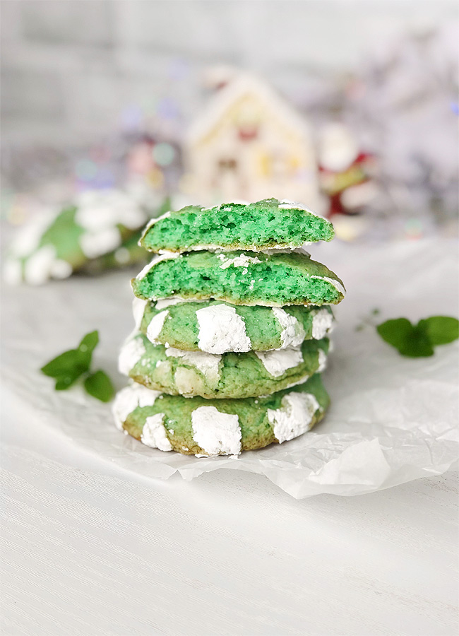 Christmas Mint cookies