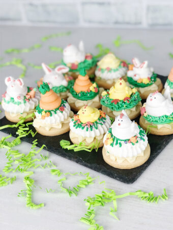 Easter Meringue Cookies
