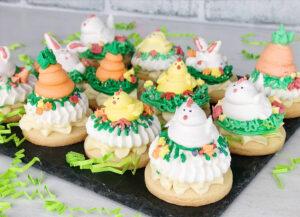 Easter Meringue Cookies