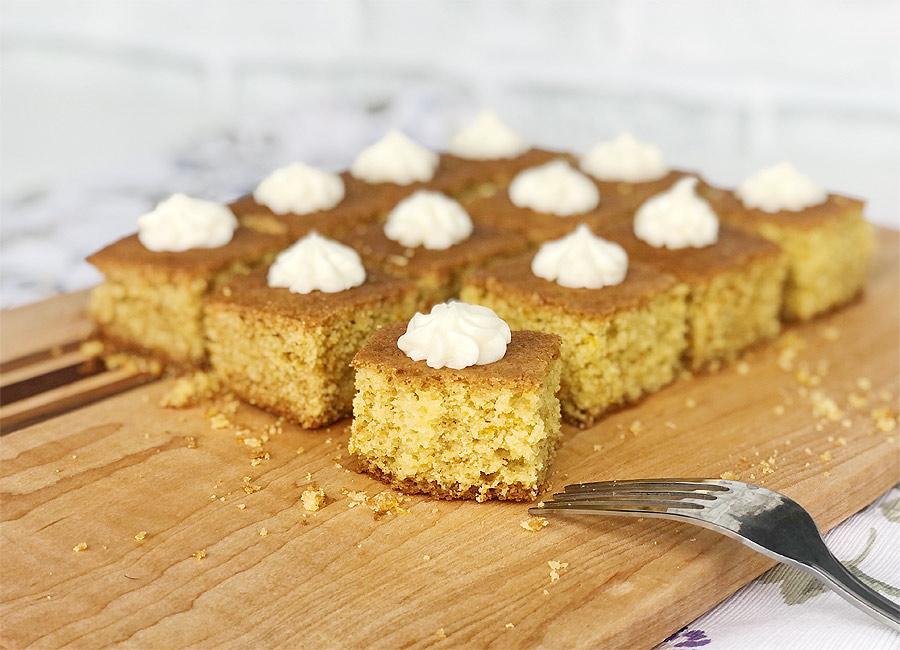 Semolina Orange Cake