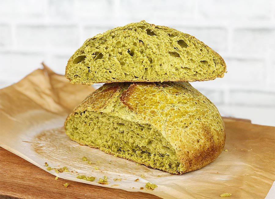 Spinach Bread Recipe