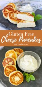 Gluten Free Cheese Pancakes
