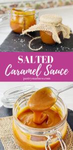 Salted Caramel Sauce Pinterest Pin