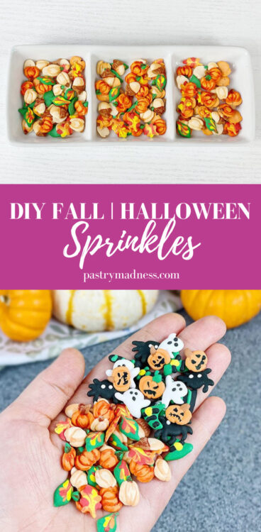 DIY Fall and Halloween Sprinkles Pinterest Pin